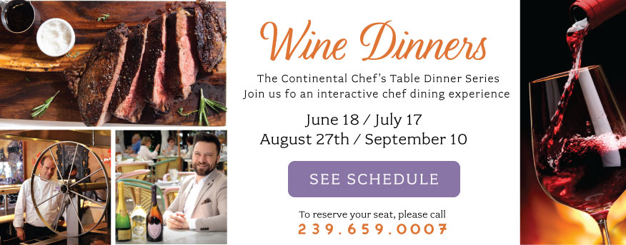 Continental wine dinners 2019