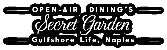 continental secret garden outdoor dining